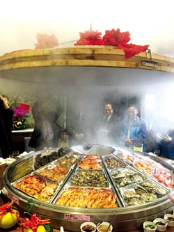 桃園農家樂餐廳蒸籠宴 熱銷