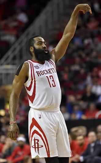 NBA》半季各獎項得主 火箭包辦三獎最大贏家
