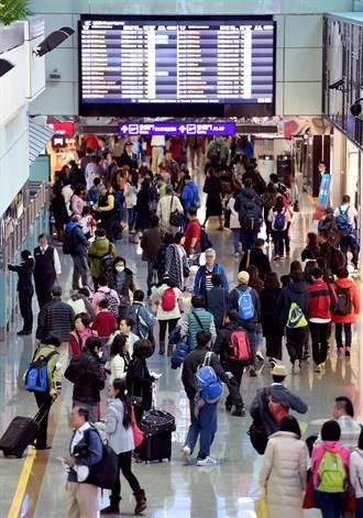 年前入出國人數破13萬 提早出門順旅程