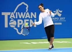 前球后楊珂維琪抵台 小巨蛋備戰台灣公開賽