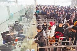 外國人自嘆 輸送不了春運30%旅客