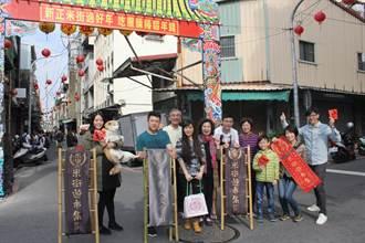 年輕人辦米街遊市集 打造如廟會建醮的喜氣感