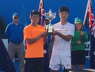 台灣囝仔好威 許育修澳網青少年男雙摘冠