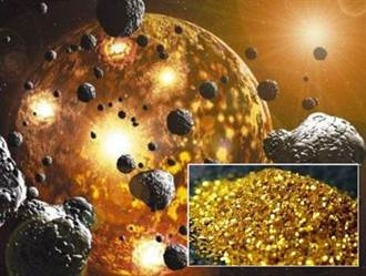 人類開採的黃金 竟是隕石所賜