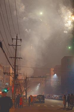 爆竹高峰期 大陸124城市陷重度空汙