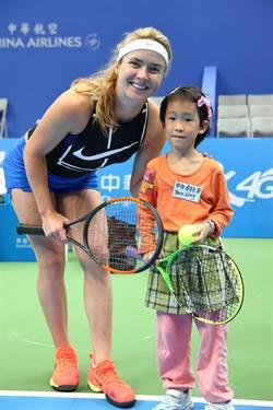 WTA台灣賽》烏克蘭最強 「球后殺手」史維托琳娜登台