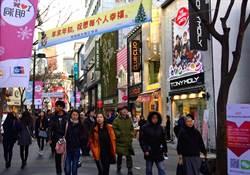 中國打壓 春節陸客赴韓旅遊團大減2至5成