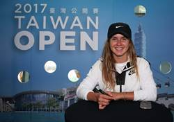 網球美女第6名 寶島簽名會人氣旺