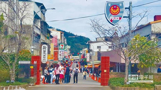 南庄老街。(資料照 黎薇攝)