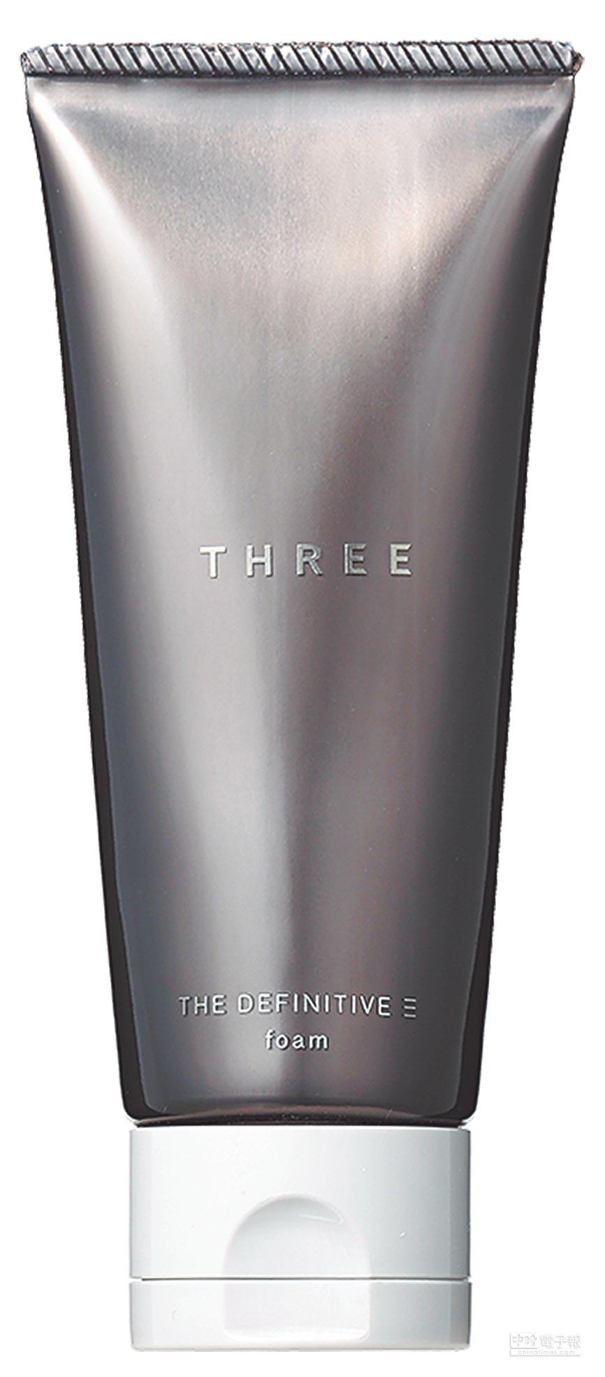 THREE究極男仕洗顏皂霜80g,1350元。