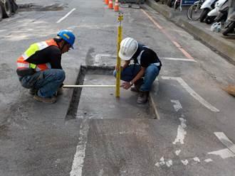 台中文心路路平孔蓋完成下地  首次成功納入寬頻網路