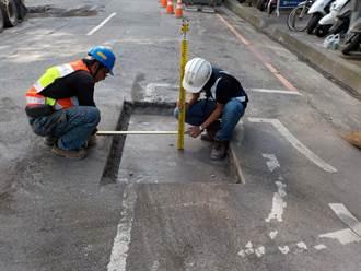 文心路孔蓋完成下地  首次納入寬頻網路