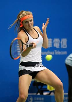 WTA台灣賽》逃過4個賽末點 美女頭號種子感冒還是贏