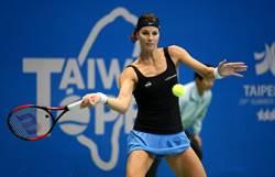 WTA台灣賽》去年曾萌退意 米內拉3盤逆轉勝