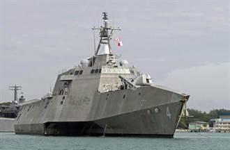 美瀕海戰鬥艦在南海演練