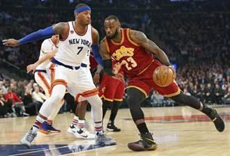 NBA》單場17次助攻 小皇帝名列史上13