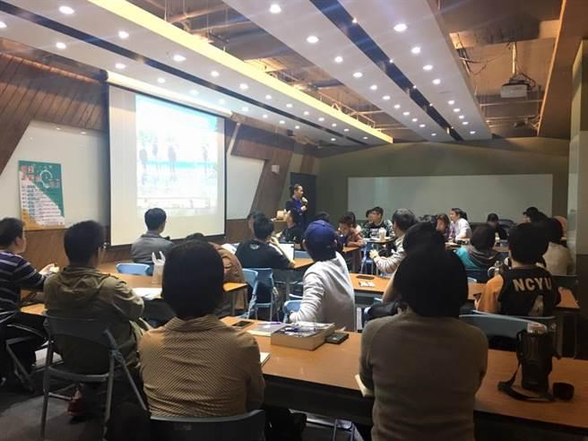 台北科技大學創新育成中心擁有豐沛的資源及空間,供新創團隊進駐及運用。圖為校內進駐空間「點子工場」,在校學生可免費租用。(圖/取自國立臺北科技大學創新育成中心 TaipeiTech IIC臉書)