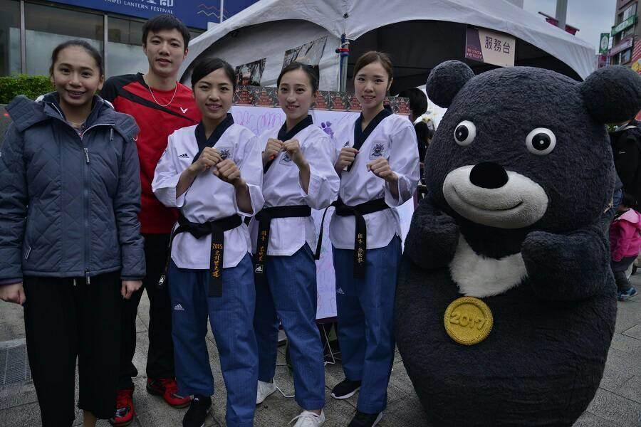 台北世大運主力選手期盼國人為他們加油打氣,營造出奪牌的主場氣氛。(世大運執委會提供)