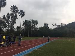 操控無人機噴灑農藥 西湖國中學生感到新奇
