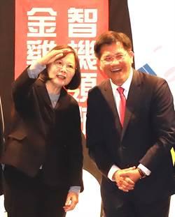 與蔡總統密會 林佳龍爭取重大建設