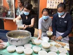 馬尼拉大火 慈濟志工陪伴災民送熱食