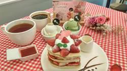 情人節限定!台中寶格冰淇淋推「莓好定格鬆餅組」