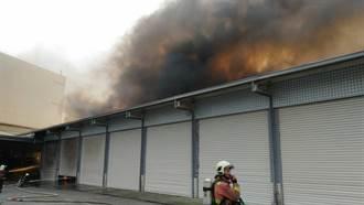 中市清晨傳工廠火警 無人傷亡