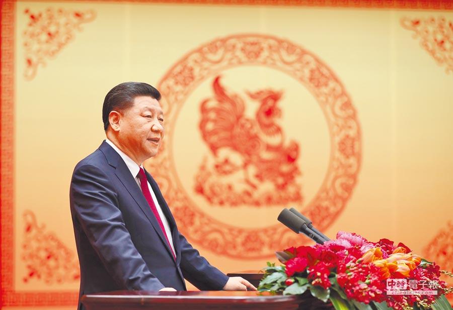 大陸國家主席習近平。(新華社資料照片)