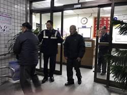7旬翁寒天迷失街頭 蘆洲暖警助返家