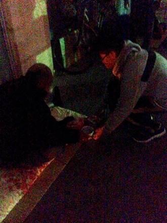 高雄青少年關懷協會手作燒仙草 寒冬送暖街友