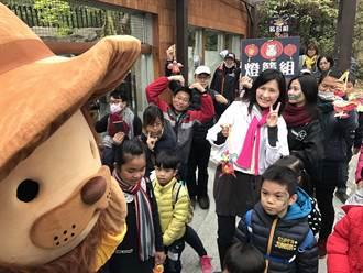 壽山動物園慶元宵 假人遊戲+旺來雞小提燈迷你遊行