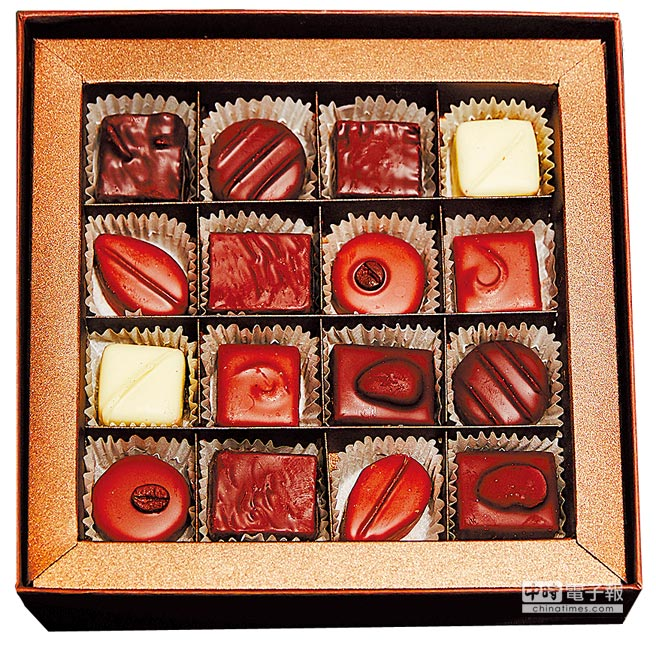AMEDEI SOGO忠孝館快閃店,手製巧克力16顆裝、2200元。(JOJ PHOTO攝)
