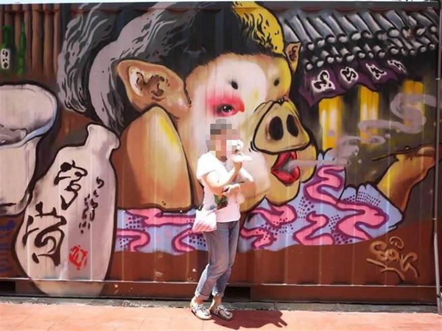中州科技大學觀光與休閒管理系兼任講師張欣茹熱愛藝術、旅行,港鐵縱火案受傷。(摘自臉書)