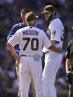 MLB》漢默離開小熊 因跟教頭不和?