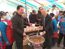 紫南宮吃丁酒 10餘萬人享美食