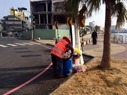 大港花火留下10噸垃圾 環保局恢復市容、維護空品