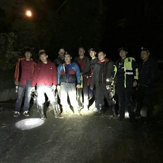 登山客失蹤 石碇警消搶救生命與時間賽跑