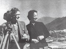 中國首位戰地女記者