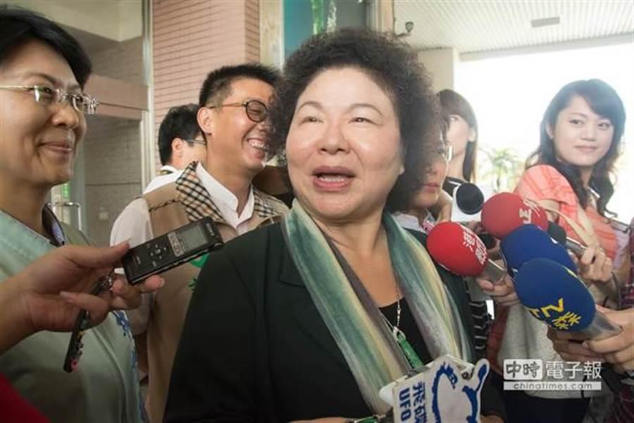 高雄市長陳菊。(資料照/林宏聰攝)