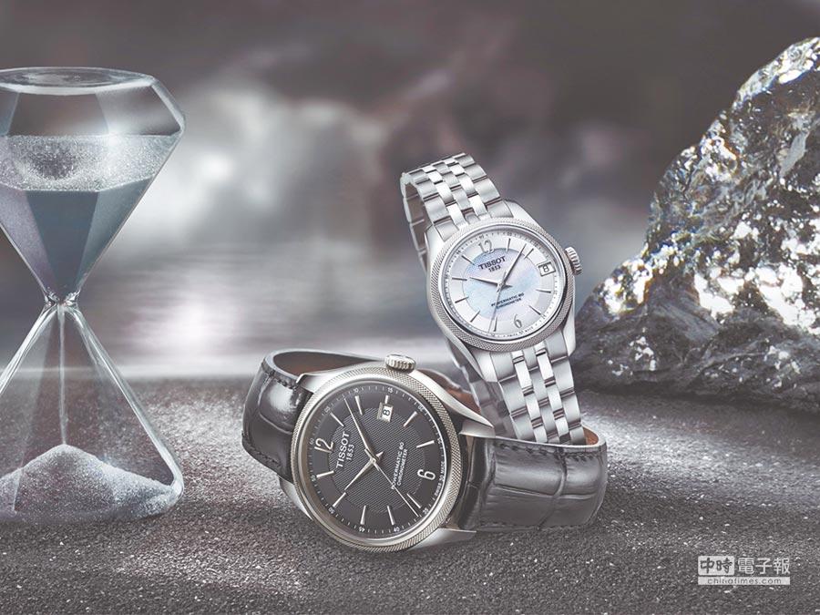 TISSOT Ballade寶環系列矽游絲COSC腕表,3萬600元起,價格超具競爭力。