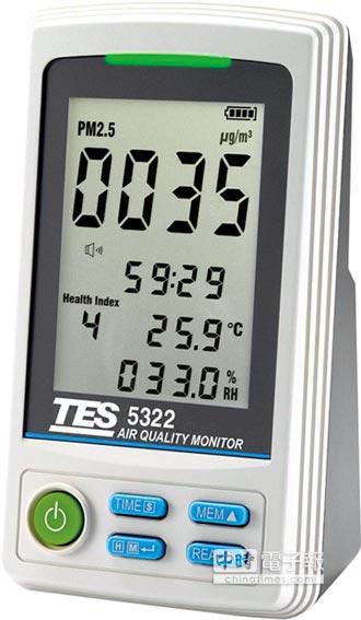 泰仕空氣品質監測器 建構健康空氣防護網