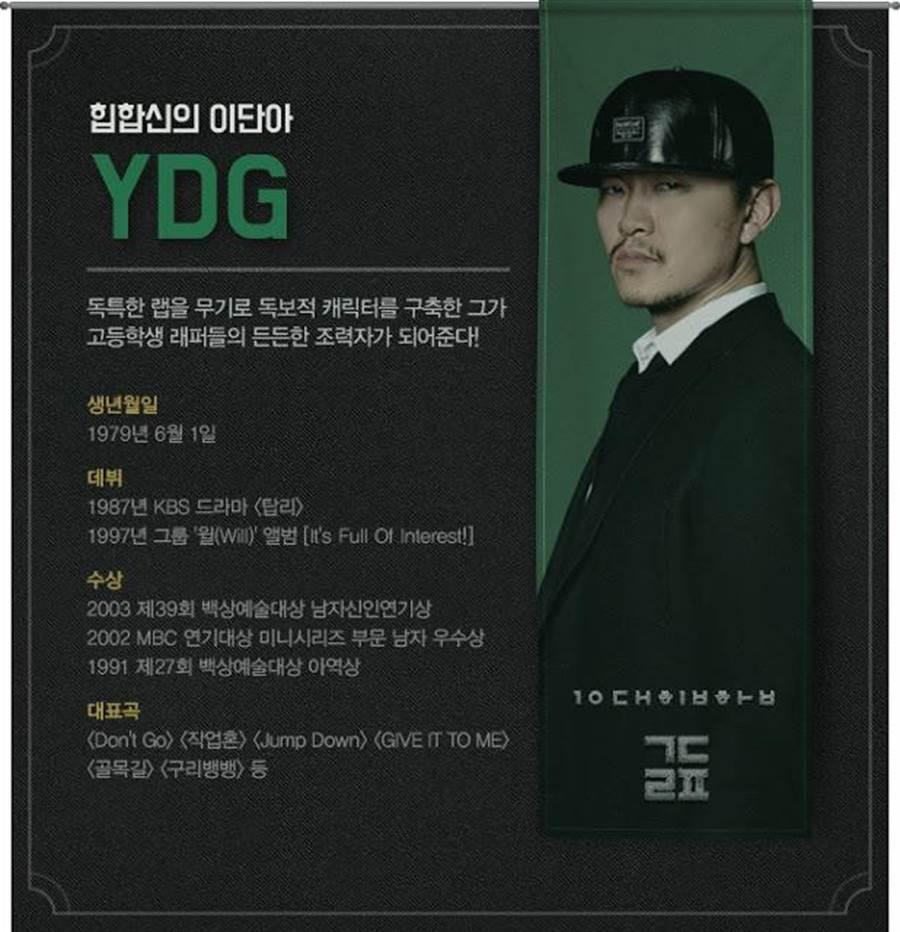YDG。(圖/韓網)