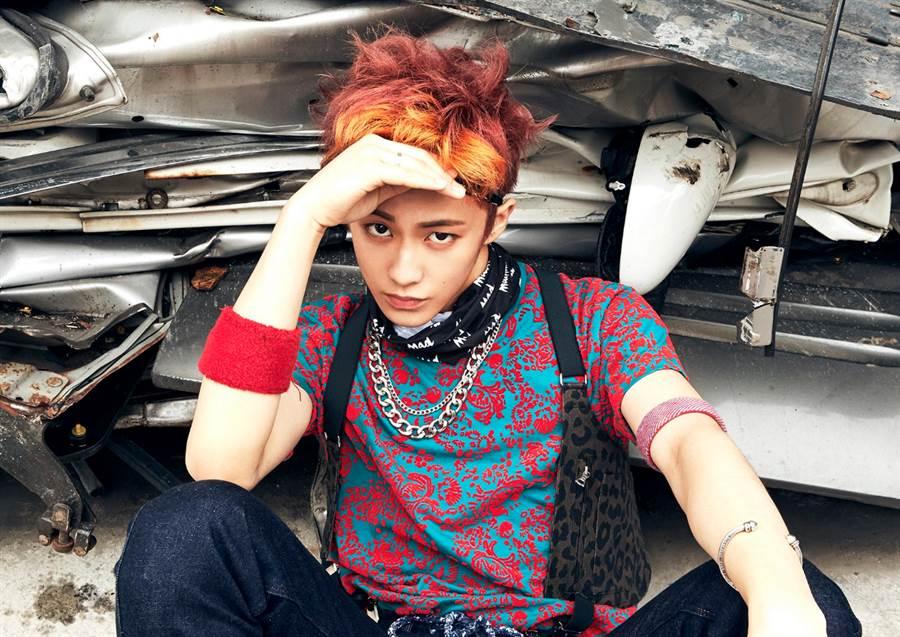 SM娛樂公司旗下人氣新男團NCT的成員Mark也將出演節目。(圖/韓網)