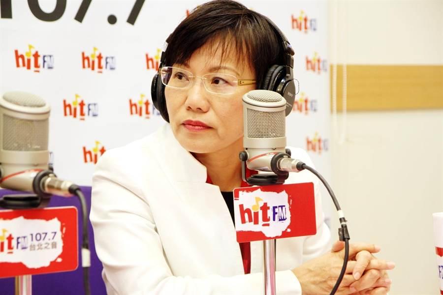 綠委劉世芳擬參與民進黨高雄市長初選,她認為若初選通過就要辭去立委。(郭建伸攝影)