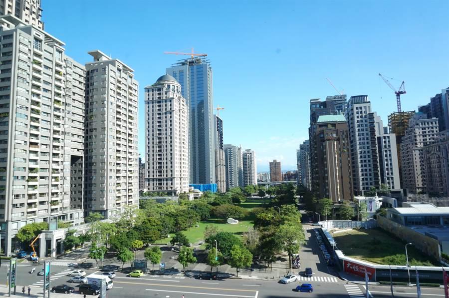 台中市年輕人購屋熱區,目前以北屯和西屯區最多。(盧金足攝)