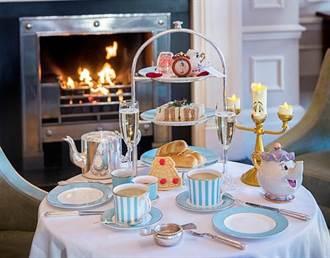 身歷其境 來一場《美女與野獸》的下午茶!茶煲太太、阿齊、葛士華都在桌上