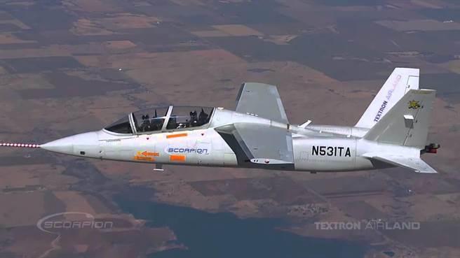 天蠍式攻擊機。(德克士隆公司)