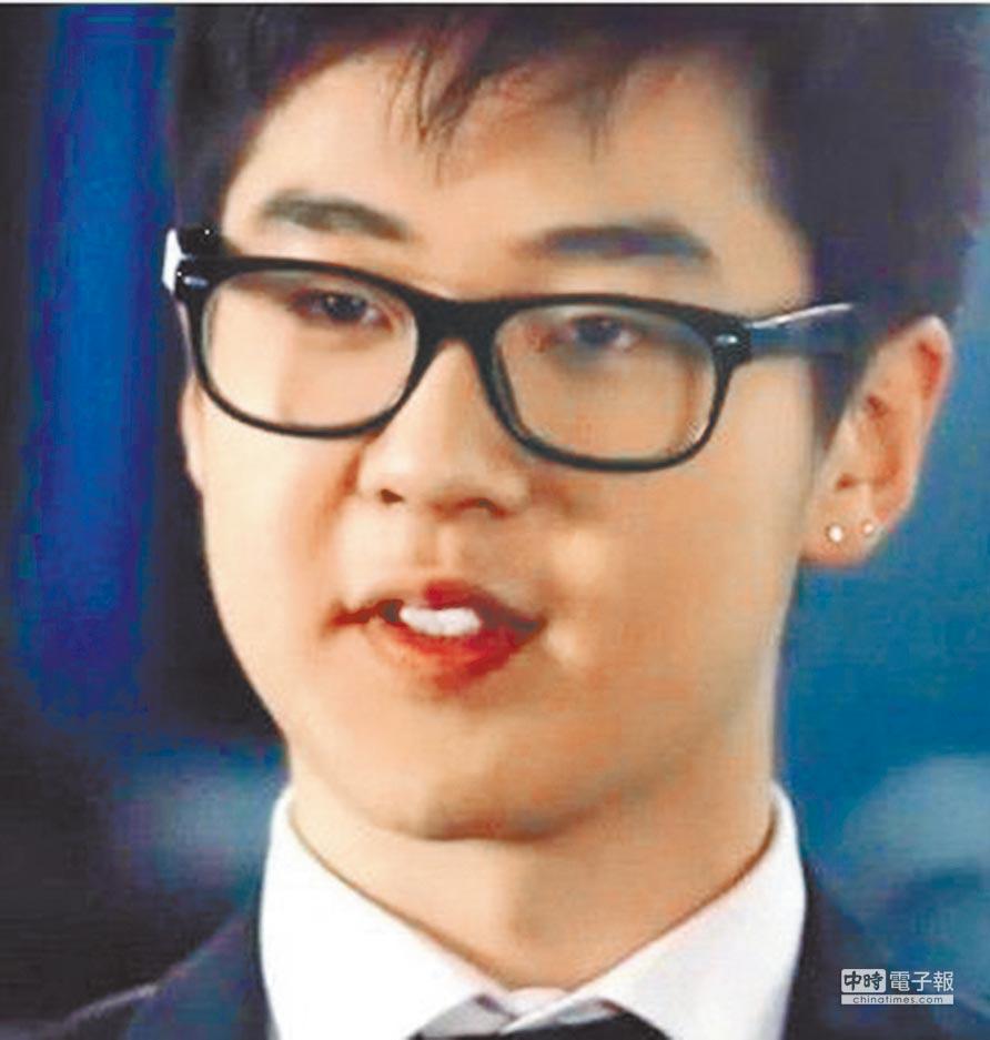 金正男現年22歲的兒子金韓松(摘自網路)