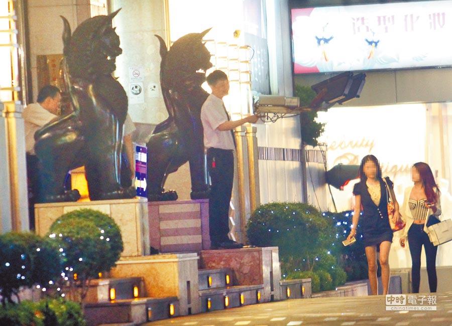 圖為台中知名酒店金錢豹。(本報資料照片)