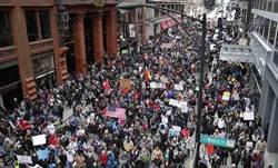 無移民日 全美多家餐館、建設公司停工一日抗議川普